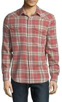 Lucky Brand Western Plaid Shirt