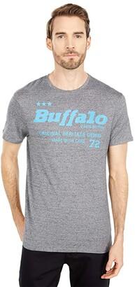 Buffalo David Bitton Tobelt Tee (Heather Grey) Men's Clothing