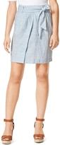 Tommy Hilfiger Final Sale-Linen Cinch Skirt