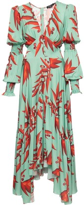 PatBO All-Over Print Maxi Dress