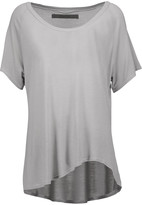 Enza Costa Draped jersey T-shirt