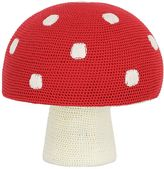 Anne Claire Hand-Crocheted Mushroom Pouf