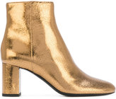 Saint Laurent LouLou 70 ankle boots