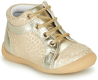 GBB OMANE girls's Shoes (High-top Trainers) in Beige