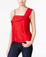 Kensie One-Shoulder Crepe Top