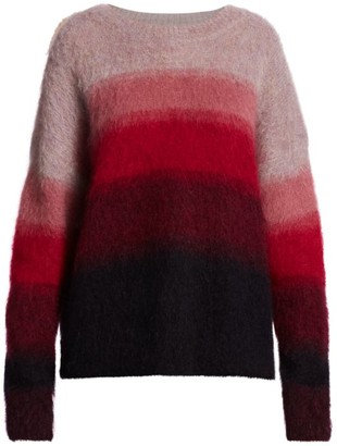 Etoile Isabel Marant Drussell Ombre Long-Sleeve Sweater