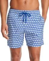 Vilebrequin Istanbul Packable Jellyfish-Print Swim Shorts