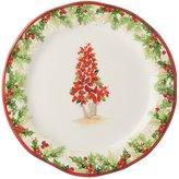 Southern Living Christmas Topiary Salad Plate