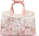 RED Valentino Mini printed leather tote