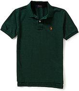 Ralph Lauren Big Boys 8-20 Solid Short-Sleeve Mesh Polo Shirt
