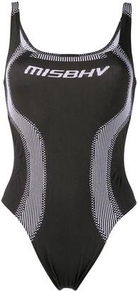 Misbhv Contouring-Panel Bodysuit