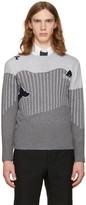 Thom Browne Grey Sea Animal Classic Pullover