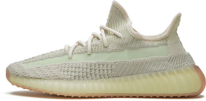 Adidas Yeezy Boost 350 V2 Reflective 'Citrin' Shoes - Size 5.5