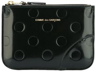 Comme des Garcons 'Polka Dots Embossed' wallet