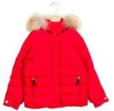 Bogner Girls' Fur-Trimmed Down Coat