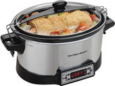 Hamilton Beach Programmable Right Size Multi-Quart Slow Cooker