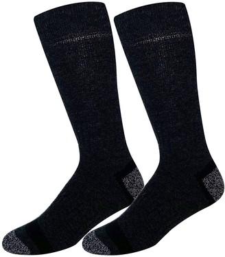 Croft & Barrow Men's 2-pack Tech Wool Crew Socks