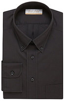 Roundtree & Yorke Gold Label Non-Iron Regular Full-Fit Button-Down-Collar Solid Dress Shirt
