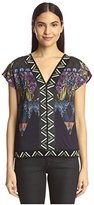 Custo Barcelona Women's Print Top