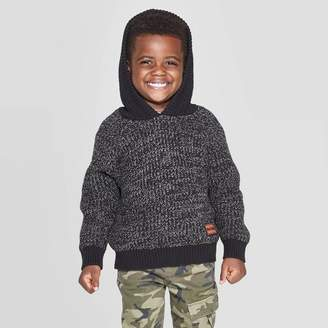 Art Class Toddler Boys' Sweater Hoodie - art classTM Dark Gray
