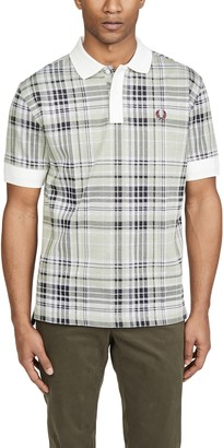 Fred Perry Jacquard Check Polo Shirt