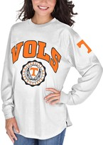 Unbranded Women's White Tennessee Volunteers Edith Long Sleeve T-Shirt