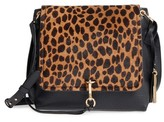 Vince Camuto Blena Leather & Genuine Calf Hair Crossbody Bag - Black