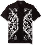Just Cavalli Men's Graphic Polo Tee