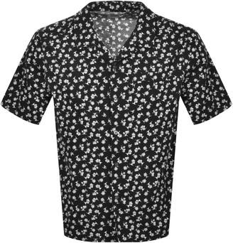 Calvin Klein Jeans Short Sleeved Shirt Black