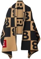 Burberry Reversible Cashmere Blanket Cape