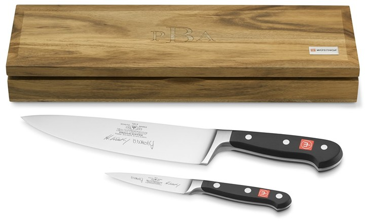 Wusthof Classic 200th Anniversary Autographed Knife Set by Viola and Harald