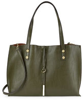 Calvin Klein Reversible Colorblocked Leatherette Tote