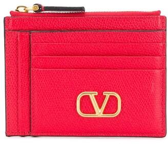 Valentino VLOGO zip cardholder