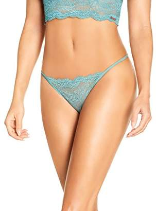 Sylvie Flirty Lingerie Women's Brunella String,X-Small