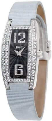 Piaget 2010 pre-owned Limelight Tonneau 18mm