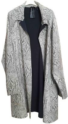 Norma Kamali Beige Polyester Coats