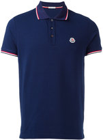 Moncler classic polo shirt - men - Cotton - XL