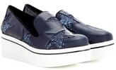 Stella McCartney Star Binx Patent Platform Loafers