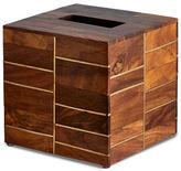 Kassatex Melrose Rosewood Tissue Box Holder