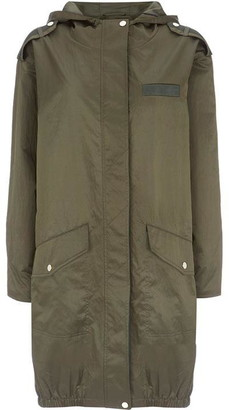 Mint Velvet Khaki Star Back Parka