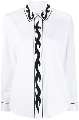 Golden Goose Western-applique shirt