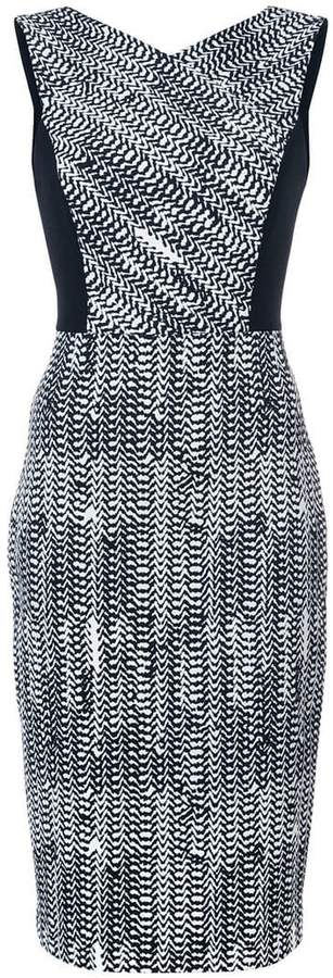 Jason Wu Collection sleeveless fitted dress