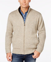 Weatherproof Vintage Men's Big and Tall Lined Cardigan, Classic Fit
