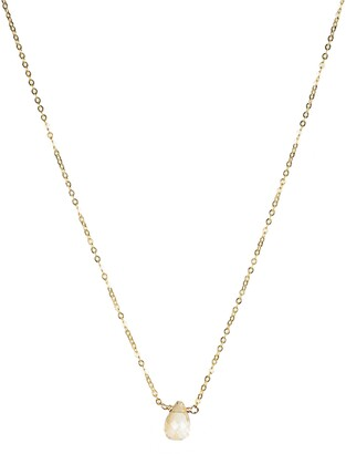 Nashelle November Synthetic Birthstone Choker Necklace