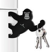 Mustard M15015 Key Kong Magnetic Key Holder Bottle Opener - Black Key Kong,Black