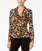 Thalia Sodi Peplum Moto Jacket, Only at Macy's