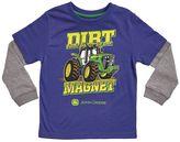 """John Deere Baby Boy Dirt Magnet"""" Skater Tee"""