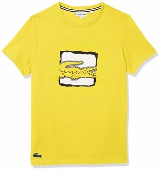 Lacoste Men's Sport Short Sleeve Techinical Jersey Croc Graphic T-Shirt
