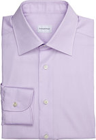 Ermenegildo Zegna Men's Twill Shirt-LIGHT PURPLE
