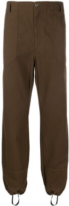 Gucci Harem-Style Mid-Rise Trousers